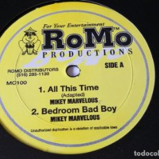 Discos de vinilo: MIKEY MARVELOUS / ZIGGY RANKING - ALL THIS TIME. Lote 221377818