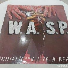 Discos de vinilo: W.A.S.P. -ANIMAL (F**K LIKE A BEAST)- (1984) MAXI-SINGLE. Lote 221379375
