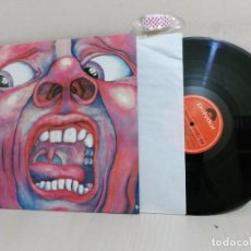 Discos de vinilo: IN THE COURT OF THE CRIMSON KING--POLYDOR-1969--MADRID-. Lote 221380805