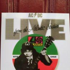 Discos de vinilo: AC/DC -LIVE FROM THE ATLANTIC STUDIOS - LP VINILO NUEVO -. Lote 221383538
