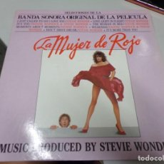 Discos de vinilo: LA MUJER DE ROJO - BADA SONORA DE LA PELICULA ORIGINAL. Lote 221383766