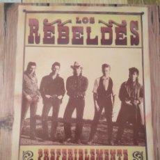 Discos de vinilo: LOS REBELDES, DOBLE DISCO, 1985 Y 1986. Lote 221392153