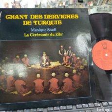 Discos de vinilo: CHANT DES DERCHIVES DE TURQUÍE FRANCIA 1978. Lote 221392397