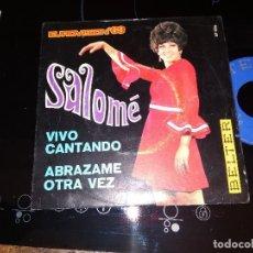 Discos de vinilo: SALOME / VIVO CANTANDO / SINGLE 45 RPM / EUROVISION 1969. Lote 221392537