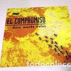 Discos de vinilo: EL COMPROMISO - HACE MUCHO CALOR - 12 SINGLE - AÑO 1992. Lote 221396110