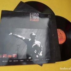 Discos de vinilo: 2 LP EROS RAMAZZOTTI - IN CONCERT - GATEFOLD - SPAIN - INNER (EX+/EX+/EX+) Ç. Lote 221396938