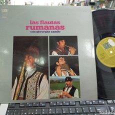 Discos de vinilo: LAS FLAUTAS RUMANAS CON GHEORGHE ZAMFIR LP ESPAÑA 1970. Lote 221396978