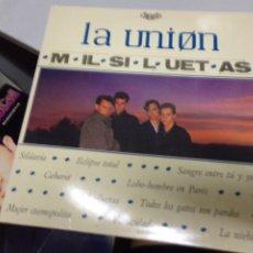 Discos de vinilo: LA UNION - MIL SILUETAS. Lote 221397050