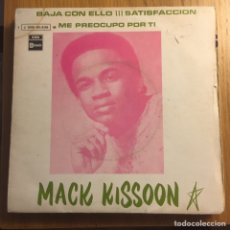 Discos de vinilo: MACK KISSEN GET DOWN WITH IT SATISFACTION (STONES COVER) EDIC ESPAÑA. Lote 221398465