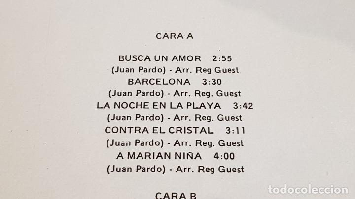 Discos de vinilo: JUAN PARDO VOL. 2 / BUSCA UN AMOR / LP - ZAFIRO-1982 / MBC. ***/*** - Foto 3 - 221399405