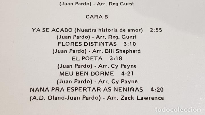 Discos de vinilo: JUAN PARDO VOL. 2 / BUSCA UN AMOR / LP - ZAFIRO-1982 / MBC. ***/*** - Foto 4 - 221399405