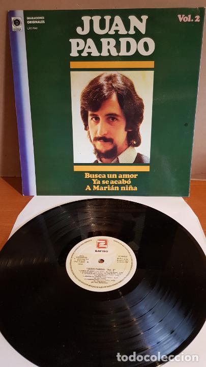 JUAN PARDO VOL. 2 / BUSCA UN AMOR / LP - ZAFIRO-1982 / MBC. ***/*** (Música - Discos - LP Vinilo - Solistas Españoles de los 70 a la actualidad)