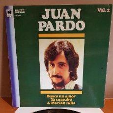 Discos de vinilo: JUAN PARDO VOL. 2 / BUSCA UN AMOR / LP - ZAFIRO-1982 / MBC. ***/***. Lote 221399405