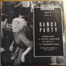 Discos de vinilo: DANCE PARTY EP ORLADOR EDIC ESPAÑA BIEN CONSERVADO. Lote 221400462