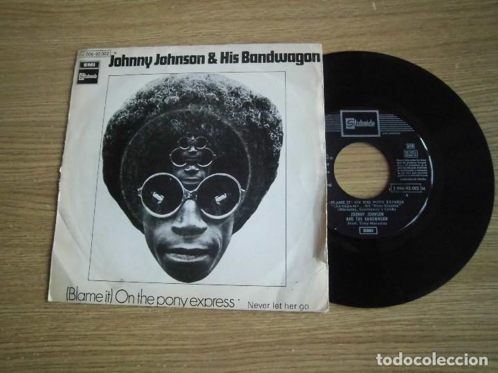 JOHNNY JOHNSON&HIS BANDWAGAN- ON THE PONY EXPRESS (Música - Discos de Vinilo - EPs - Funk, Soul y Black Music)