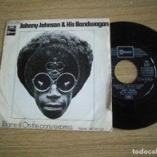Discos de vinilo: JOHNNY JOHNSON&HIS BANDWAGAN- ON THE PONY EXPRESS. Lote 221401070
