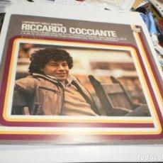 Discos de vinilo: LP RICCARDO COCCIANTE. I MOMENTI DELL' AMORE. RCA ITALY (PROBADO Y BIEN, SEMINUEVO). Lote 221406277