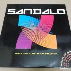 Discos de vinilo: SANDALO (LP) SALIR DE MARCHA AÑO 1994. Lote 221407055