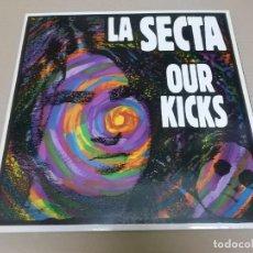 Discos de vinilo: LA SECTA (LP) OUR KICKS AÑO 1991 – PORTADA ABIERTA. Lote 221407688