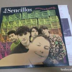 Discos de vinilo: LOS SENCILLOS (LP) ENCASADENADIE AÑO 1992 – ENCARTE CON LETRAS. Lote 221408076