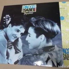 Discos de vinilo: PACO ORTEGA E ISABEL MONTERO (LP) SIGUEME AÑO 1991 – HOJA CON LETRAS. Lote 221408156