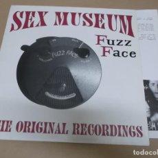 Discos de vinilo: SEX MUSEUM (LP) FUZZ FACE AÑO 1992 – HOJA CON CREDITOS. Lote 221408230