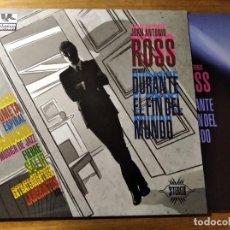 Discos de vinilo: JUAN ANTONIO ROSS - PRESENTA DURANTE EL FIN DEL MUNDO ** RARO LP INDIE POP 2012 IMPECABLE, CON EL CD. Lote 221409810