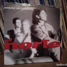 Discos de vinilo: EL NORTE - AMORES SIN PALABRAS 1990 PROMO PROMOCIONAL SPAIN SINGLE VINILO. Lote 221411726
