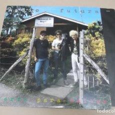 Discos de vinilo: RADIO FUTURA (LP) TIERRA PARA BAILAR AÑO 1992 – ENCARTE INTERIOR. Lote 221411845