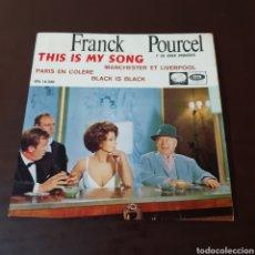 Discos de vinilo: FRANCK POURCEL Y SU GRAN ORQUESTA - THIS IS MY SONG .... Lote 221415340