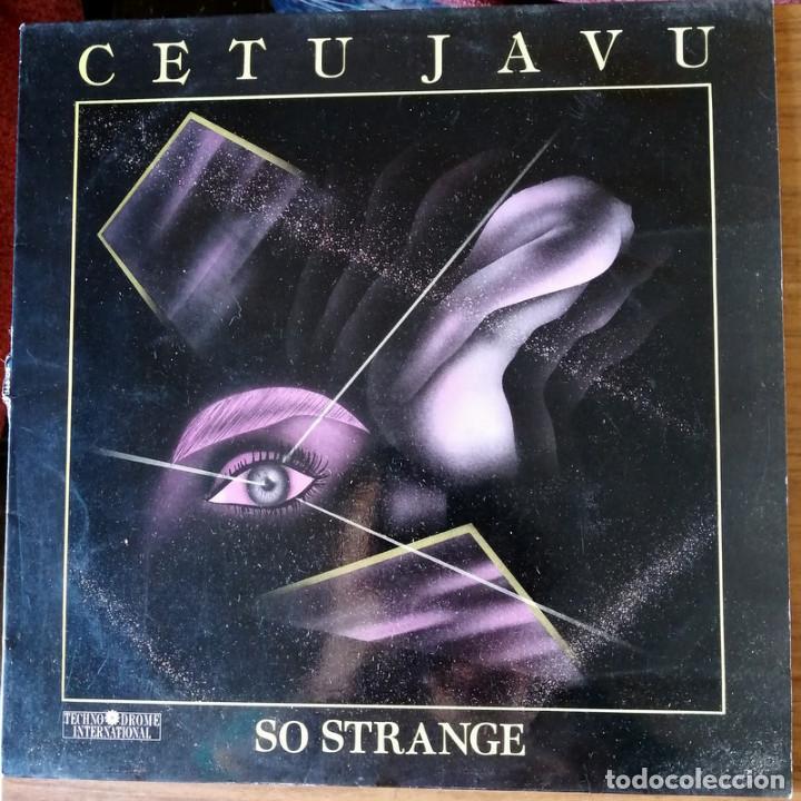 SO STRANGE (CETU JAVU) (Música - Discos de Vinilo - Maxi Singles - Electrónica, Avantgarde y Experimental)