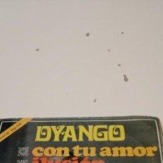 Disques de vinyle: BAL-7 DISCO 7 PULGADAS VINILO MUSICA DYANGO CON TU AMOR. Lote 221419190