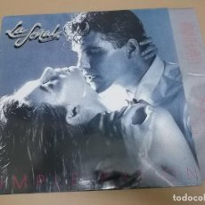 Discos de vinilo: LA SEÑAL (LP) SIMPLE PASION AÑO 1990 – HOJAS CON LETRAS. Lote 221426040