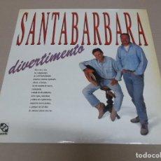 Discos de vinilo: SANTABARBARA (LP) DIVERTIMENTO AÑO 1991. Lote 221426541