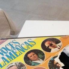 Discos de vinilo: BAL-8 DISCO 12 PULGADAS VINILO MUSICA VOCES FLAMENCOS SERIE CANCIONERO. Lote 221426647