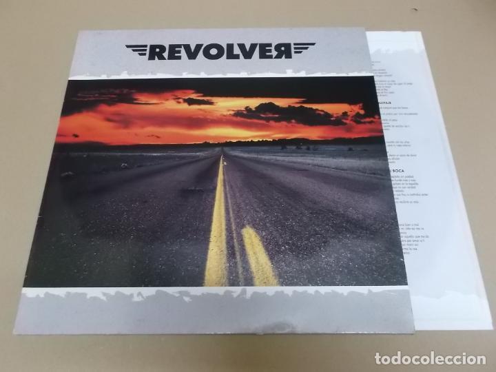 REVOLVER (LP) REVOLVER-90 AÑO 1990 – ENCARTE CON LETRAS (Música - Discos - LP Vinilo - Grupos Españoles de los 90 a la actualidad)