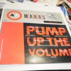Discos de vinilo: MAXI SINGLE MARRS PUMP UP THE VOLUME. BLANCO Y NEGRO 1987 SPAIN (PROBADO Y BIEN). Lote 221427121