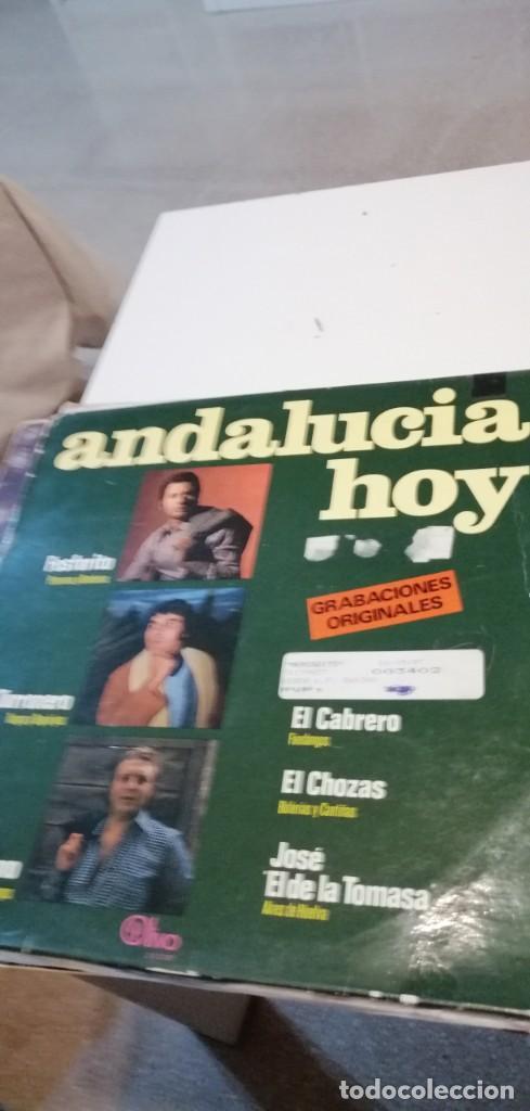 BAL-8 DISCO 12 PULGADAS VINILO MUSICA ANDALUCIA HOY FOSFORITO (Música - Discos - LP Vinilo - Otros estilos)