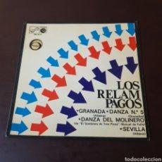 Discos de vinilo: LOS RELAMPAGOS - GRANADA - DANZA DEL MOLINERO - SEVILLA .... Lote 221430805