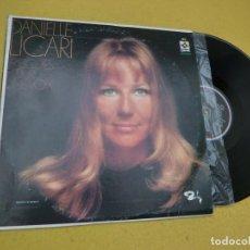 Discos de vinilo: LP DANIELLE LICARI - MELODIES POUR UNE VOIX - MEXICO PRESS - BARCLAY ?EDI 60048 (EX/EX+)Ç. Lote 221432988
