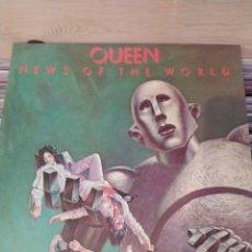 Discos de vinilo: QUEEN -NEWS OF THE WORLD . LP VINILO PORTADA ABIERTA. NUEVO. Lote 221442941