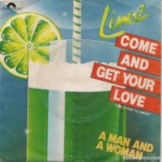 Discos de vinilo: LIME,COME AND GET YOUR LOVE DEL 82. Lote 221447817