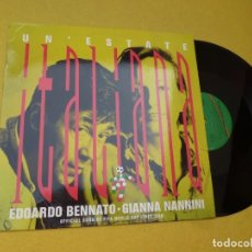 "Discos de vinilo: MAXI SINGLE 12"" EDOARDO BENNATO - GIANNA NANNINI ?– UN'ESTATE ITALIANA - SPAIN (EX/EX+) Ç. Lote 221448336"