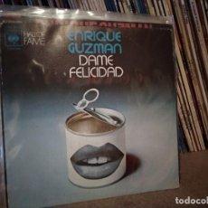 Discos de vinilo: ENRIQUE GUZMAN DAME FELICIDAD/MUÑEQUITA 7'' SINGLE 1973 CBS ESPAÑA SPAIN. Lote 221449730
