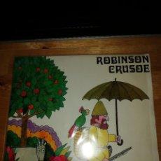 Discos de vinilo: ROBINSON CRUSOE - DANIEL DEFOE - ALBERT VIDAL - JAUME PICAS - EDIGSA 1968 - SINGLE CI 30 - GALLARDO. Lote 221451140