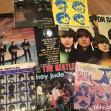 Discos de vinilo: THE BEATLES, 7 VINILOS. Lote 127851619