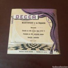 Discos de vinilo: MANTOVANI Y SU ORQUESTA - DECCA - BARCAROLA .... Lote 221455730