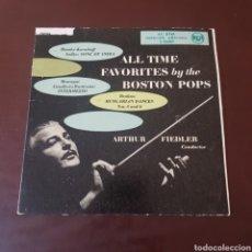 Discos de vinilo: ALL TIME FAVORITES BY THE BOSTON POPS - ARTHUR FIEDLER - BRAHMS - RIMSKY KORSAKOFF .... Lote 221457407