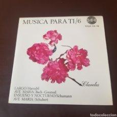 Discos de vinilo: MUSICA PARA TI 6 - HAENDEL - BACH GOUNOD - SCHUMANN - SCHUBERT. Lote 221459761