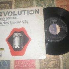 Discos de vinilo: EVOLUTION- FRESH GARBAGE-SINGLE 1969 OG ESPAÑA LEA DESCRIPCION. Lote 221459902